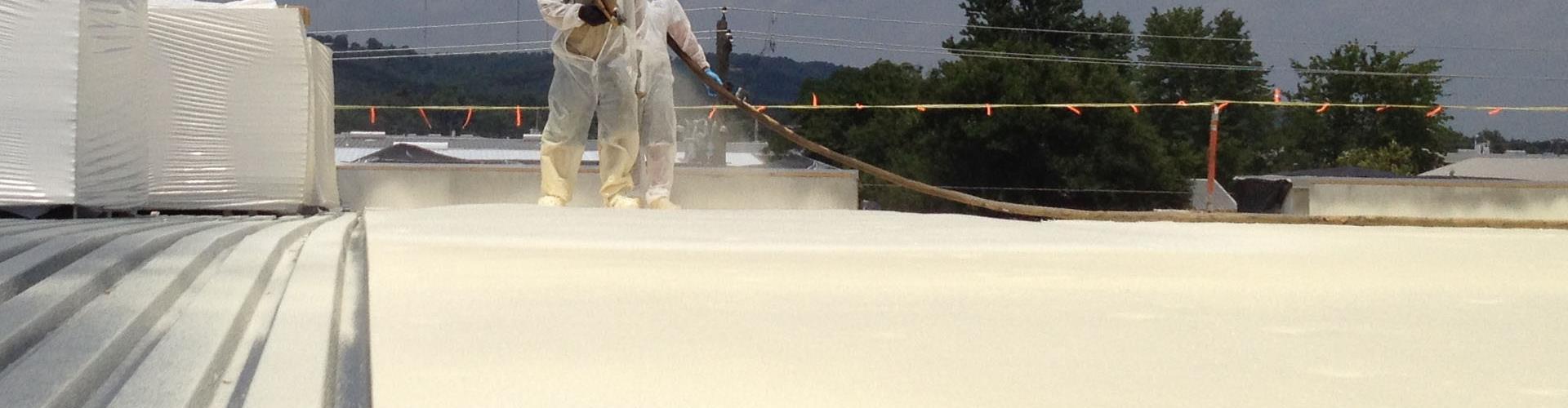 Spray Polyurethane Roof Repairs and Restoration