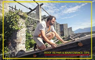 Roof Repair & Maintenance Tips